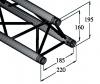 DECOLOCK DQ3 3-Punkt Traversensystem