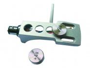 Headshell Systemträger mit Gewichten silber