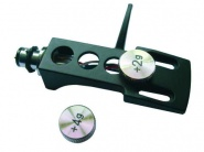 Headshell Systemträger mit Gewichten schwarz