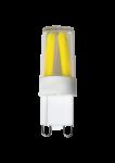 LED Stiftsockellampe 230V 2W G-9 3000K (nur 16x47mm) (EEK: A++)