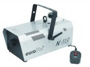 EUROLITE Nebelmaschine N-110 silber mit ON/Off