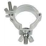 Showtec 50mm Compact Half Coupler SWL: 100kg, silber