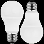 LED Lampe 230V 8W E-27 2700K, DOPPELPACK (EEK: A+)