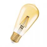 Osram Vintage 1906 LED Classic Edison Filament Gold 2.8-21W/824 E27 200lm ultra warmweiß nicht dimmbar