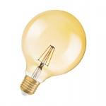 Osram Vintage 1906 LED Classic Globe125 Filament Gold 2.8-21W/824 E27 ultra warmweiß nicht dimmbar (EEK: A+)