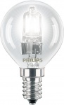 PHILIPS Tropfenlampe P45 EcoClassic 230V 42W E-14 klar (EEK: D)