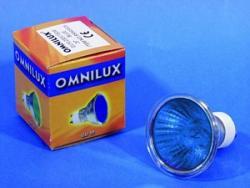 OMNILUX GU-10 230V/50W 2000h 25° blau