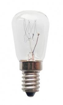 SOBLITE Birnenformlampe 28x63 230V 40W E-14 klar (RC) (EEK: E)