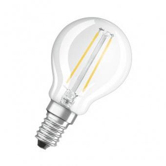 Osram Parathom Classic P Filament 1.6-15W/827 E14 klar echt warmweiß n. dim. (EEK: A++)