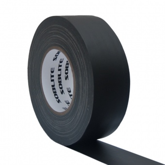 SOBLITE Gaffa Gewebeband CLT59  50mm/50m matt schwarz