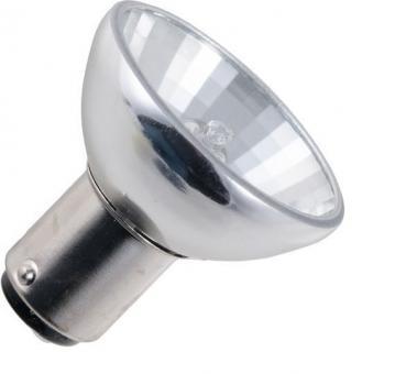Reflektorlampe GBF 12V 20W R37 32° Ba15d klar (Vgl.Typ PHILIPS 6435)