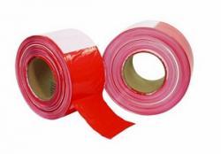 PP Absperrband rot/weiß 500mx80mm