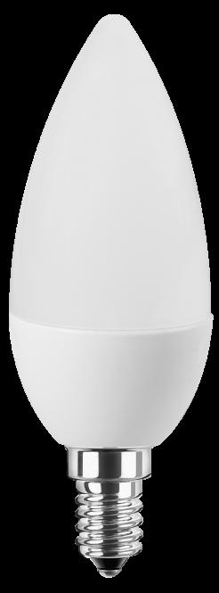 LED Kerze 230V 5W E-14 2700K warmweiß (EEK: A+)