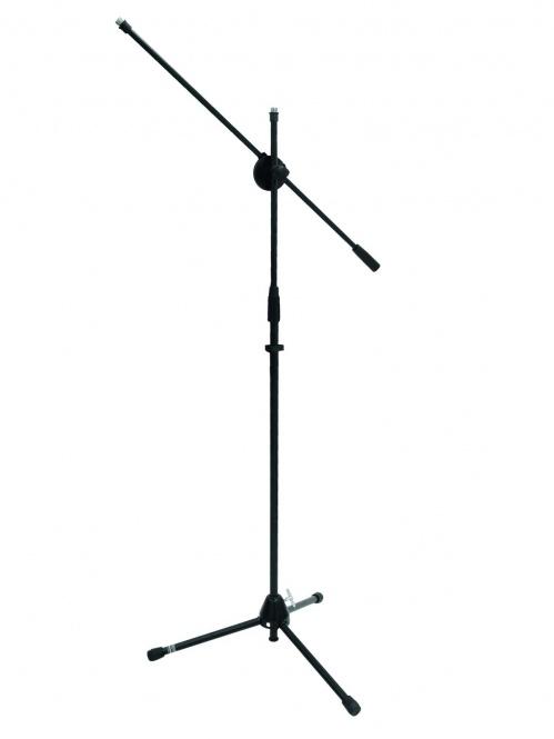 Mikrofonstativ mit Galgen, schwarz