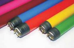 Leuchtstoffr�hre mit Splitterschutz 58W G13 1500x26mm T8 pink