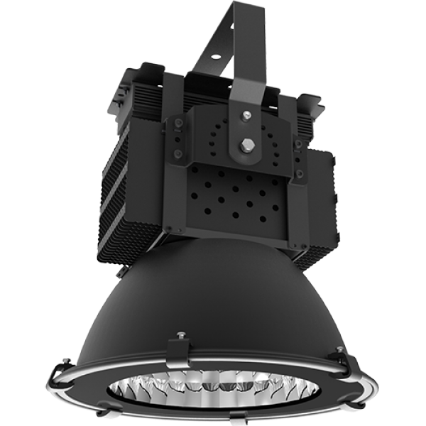 LED Hallenstrahler HighBay 150W 6000K kaltweiß 374x459mm Mean Well IP65 (EEK: A+)