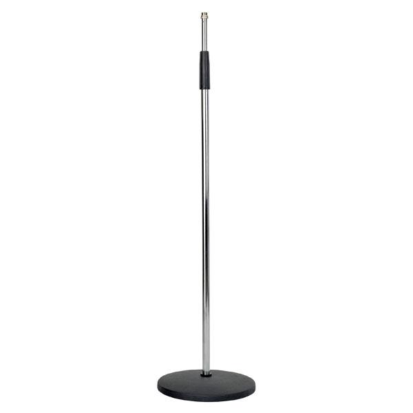 DAP Mikrofonstativ 160cm chrom Baseplate