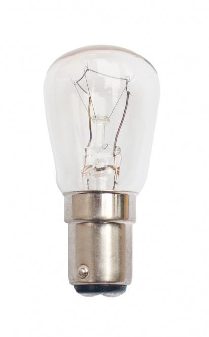 SOBLITE Birnenformlampe 28x63 12V-15V 25W Ba15d klar (EEK: E)