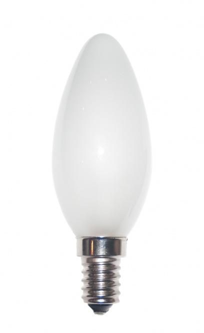 Kerzenlampe C35x100 230V 40W E-14 matt (RC) (EEK: E)