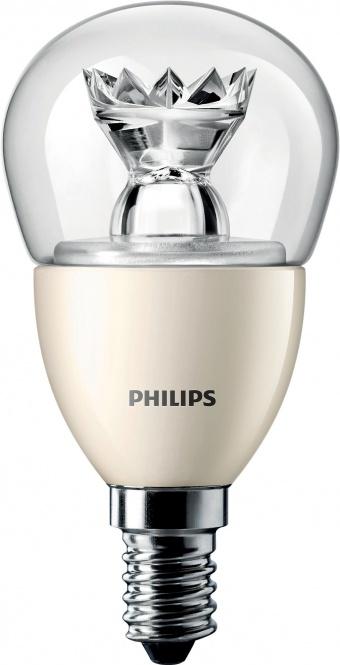 PHILIPS  MASTER LEDluster D 3,5-25W E-14 2700K P48 klar (EEK: A+)