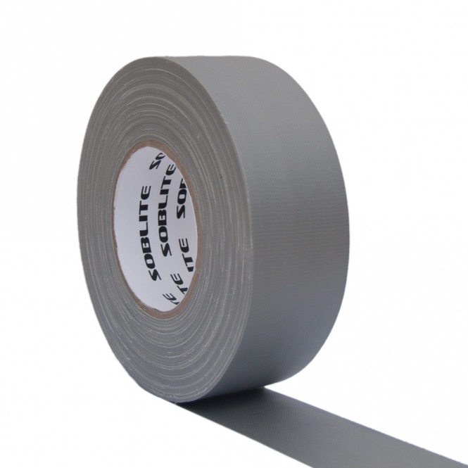 SOBLITE Gaffa Gewebeband CLT59 50mm/50m matt silber