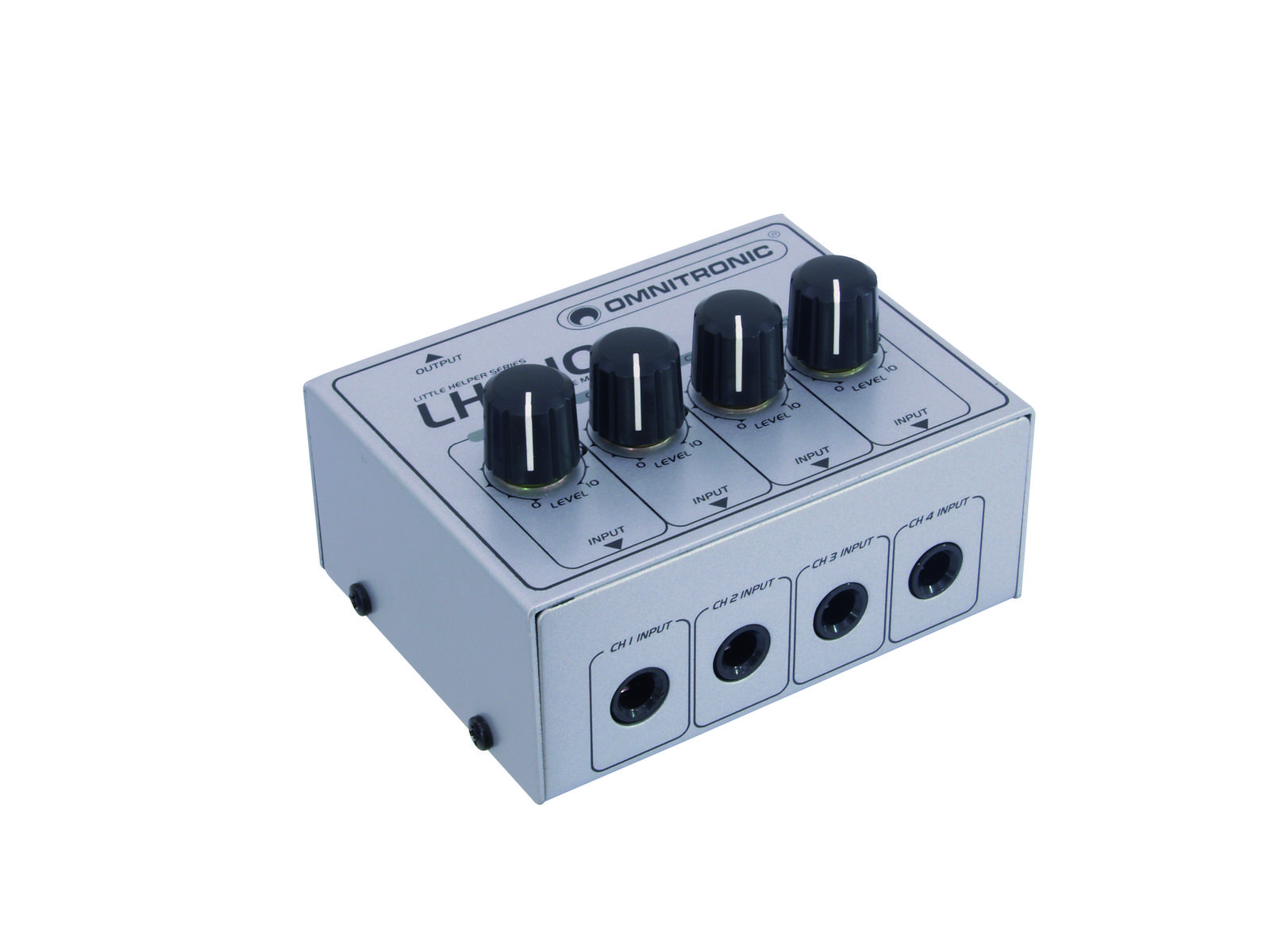 OMNITRONIC LH-010, 4 Kanal passiver Mixer