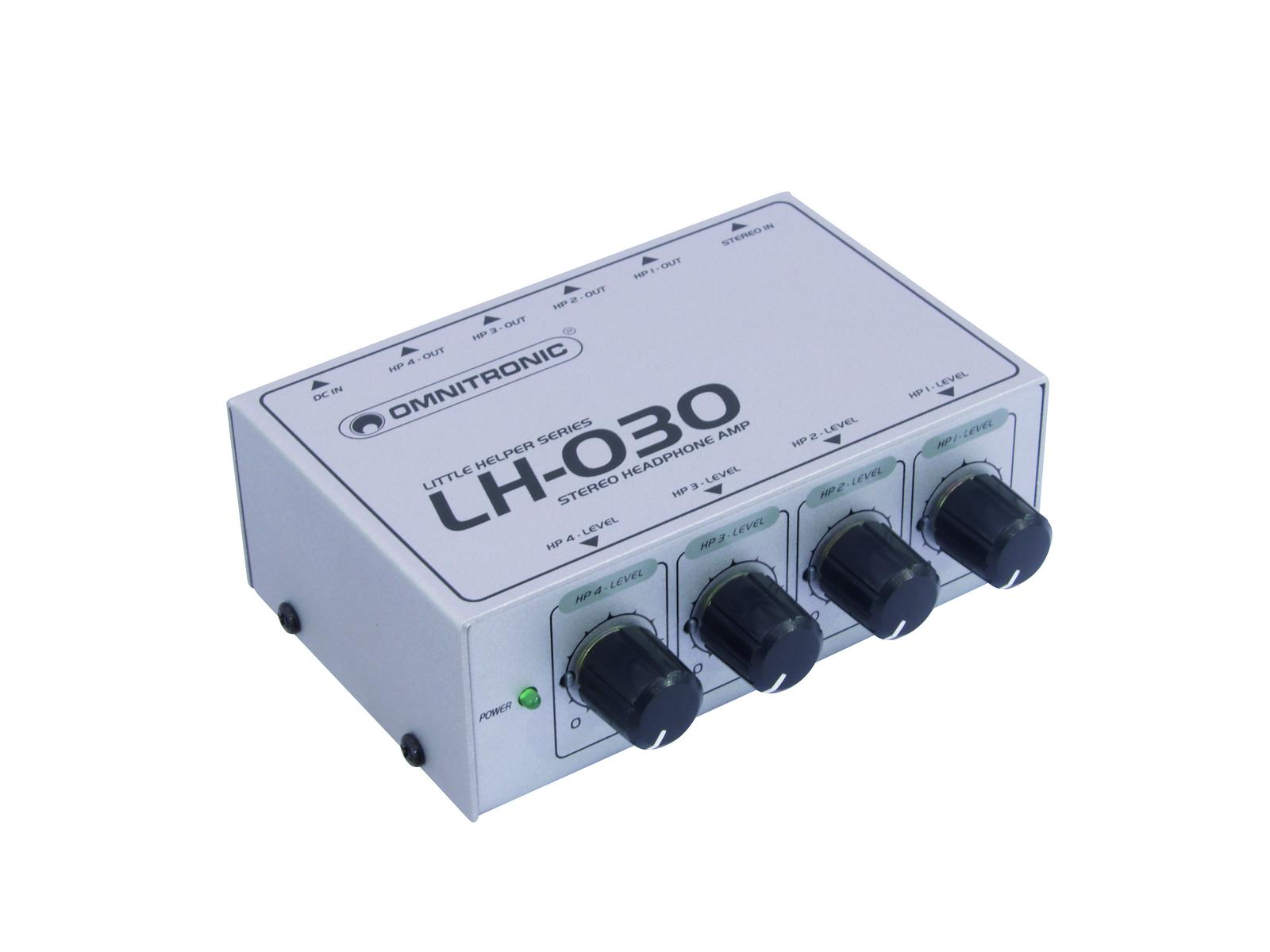 OMNITRONIC LH-030, Kopfhörer-Verstärker