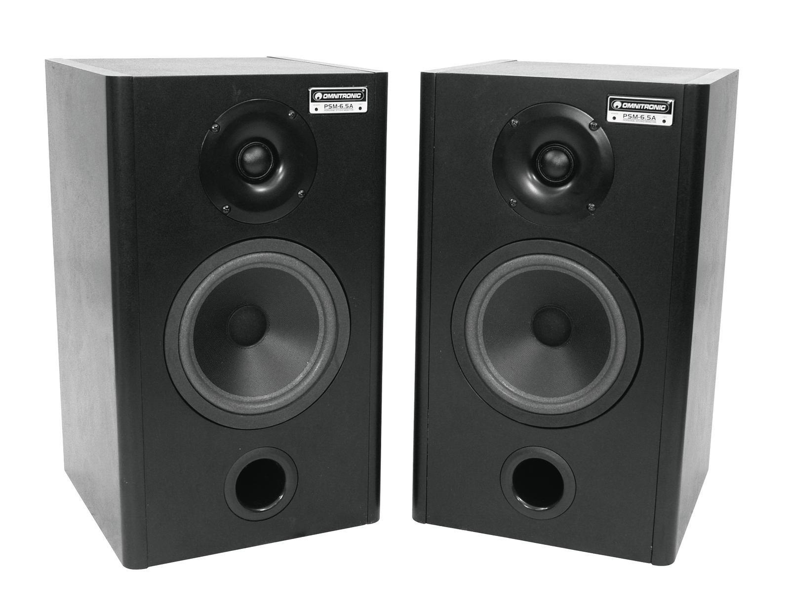 OMNITRONIC PSM-6.5A, Studio-Monitor/Paar