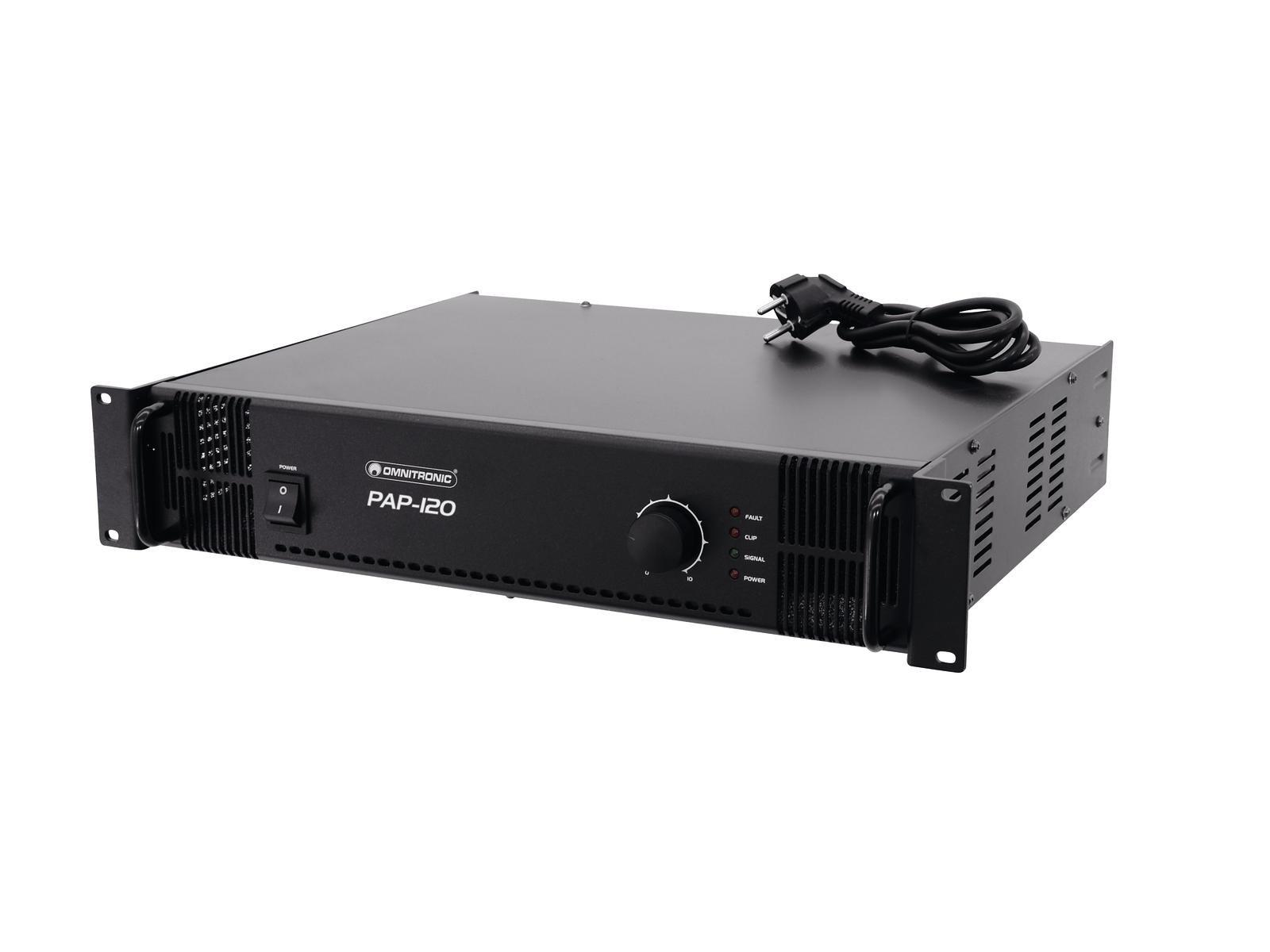 OMNITRONIC PAP-120 ELA-Verstärker