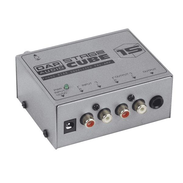 DAP-Audio DAP SC-15 Phono-Vorverstärker