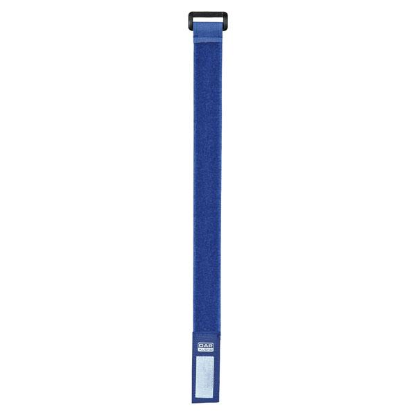 DAP-Audio DAP Kabel-Klettbänder 2,5cm/27,5cm 10Stk. blau