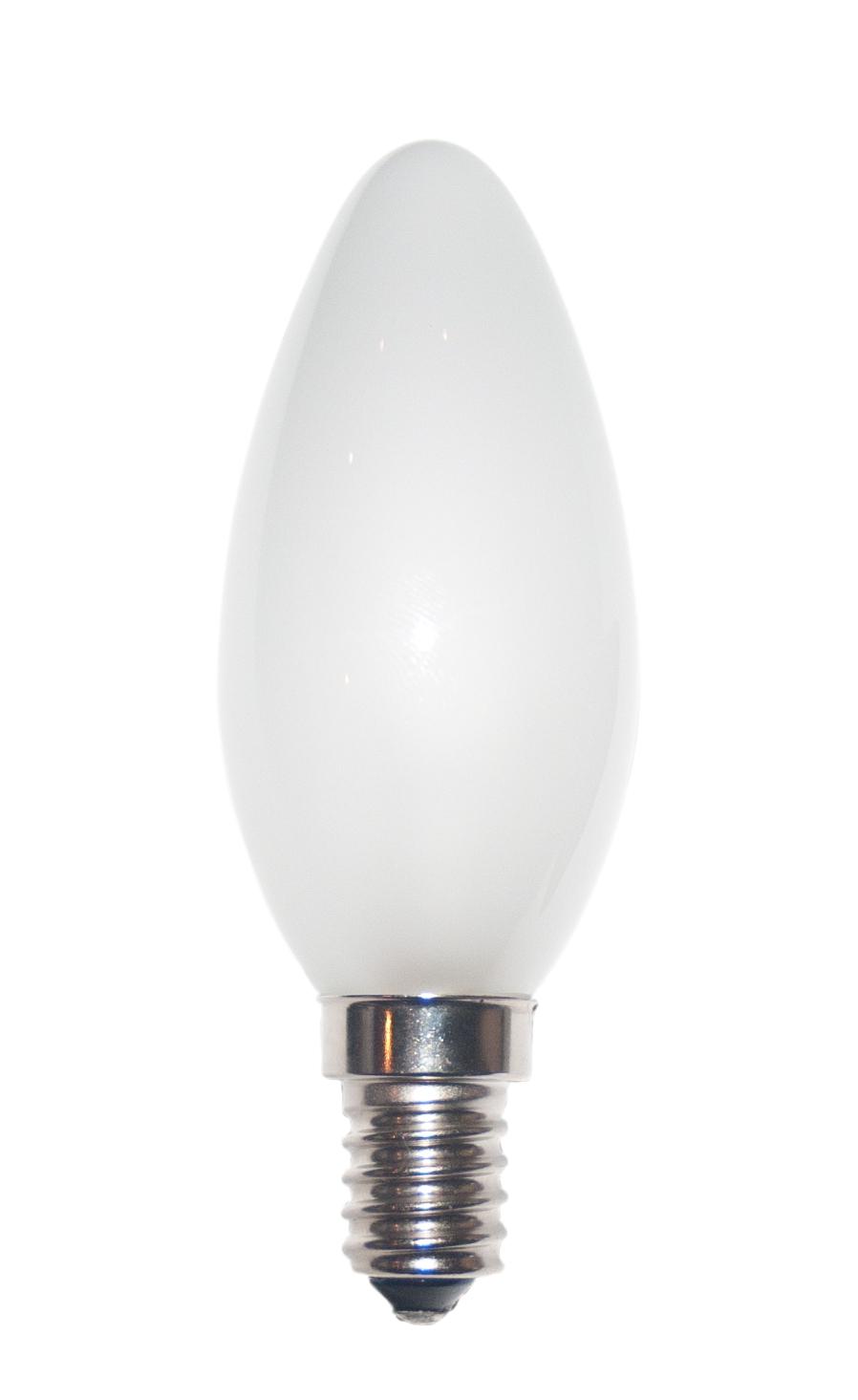 Kerzenlampe C35x100 230V 25W E-14 matt (RC) (EEK: E)
