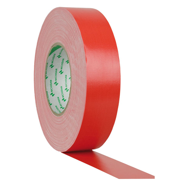 Nichiban Gaffa Tape Gewebeklebeband 38mm/50m rot