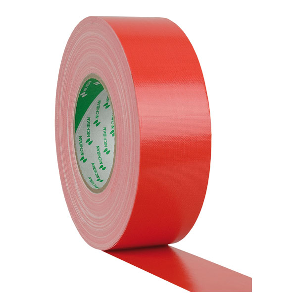 Nichiban Gaffa Tape Gewebeklebeband 50mm/50m rot