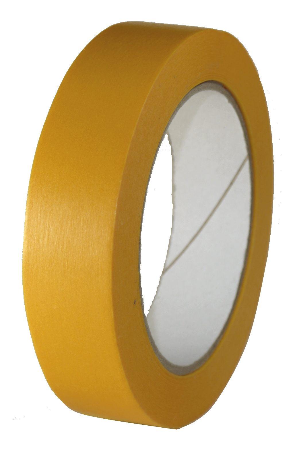 Lackierband Universal Gold/Orange 25mm/50m bis 100°C