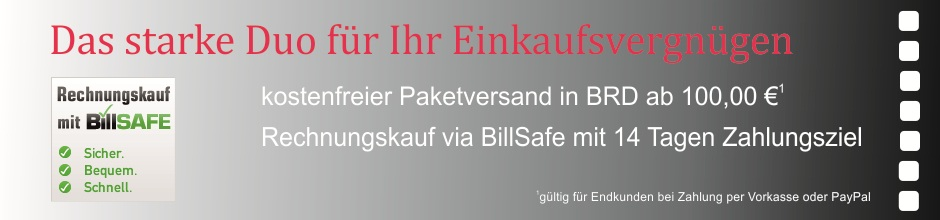 Banner Frachtfrei